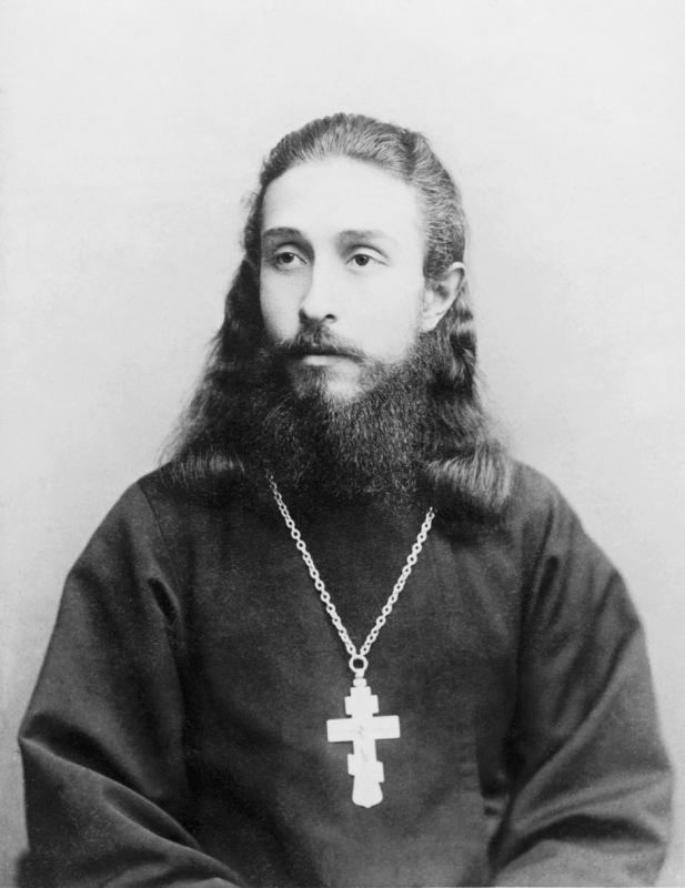 Священник Митрофан Сребрянский. 1894 год