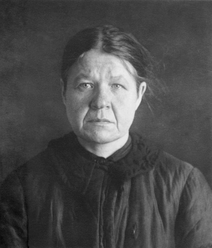 Послушница Анастасия Бобкова. Москва, Таганская тюрьма. 1938 год