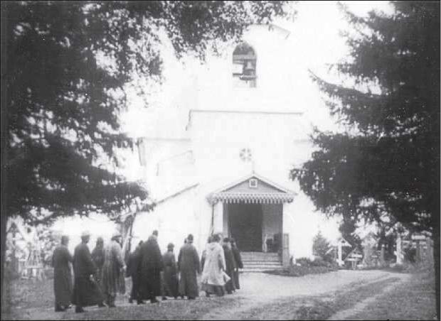 Соловецкий концлагерь. Храм преподобного Онуфрия Великого
