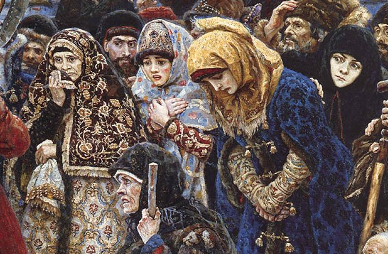 """В. И. Суриков """"""""Боярыня Морозова"""""""" 1884-1887 (Фрагмент)"""
